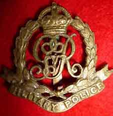 military police corps cap badge